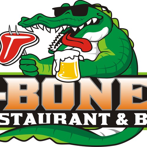 Help T-Bones Grill & Wings with a new logo