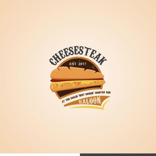 Logo for Cheesesteak Salon