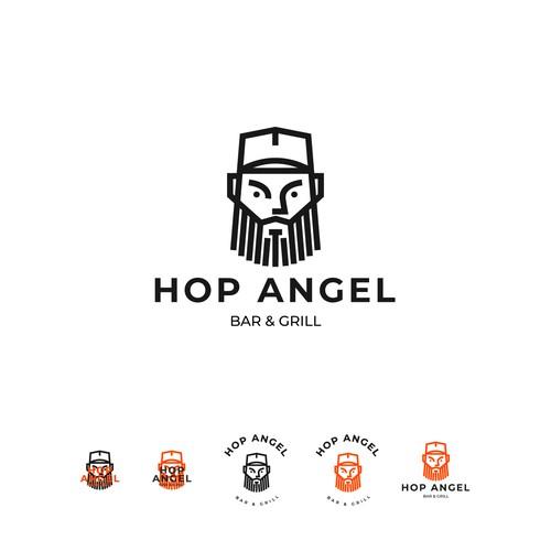 Hop Angel logo for sale