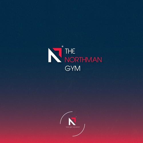 Bold logo concept for a gym