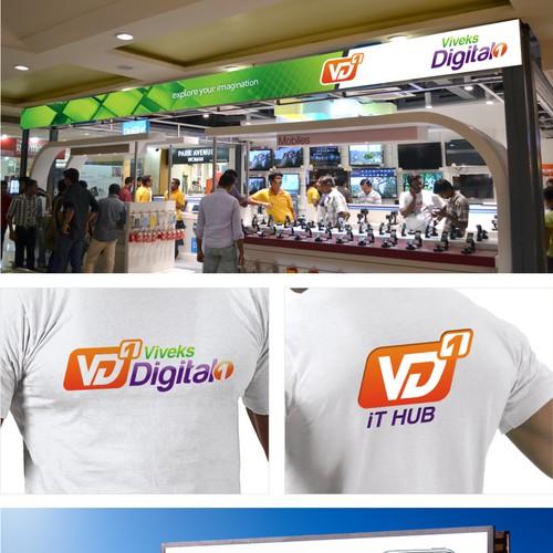 Help Viveks Digital 1 with a new logo
