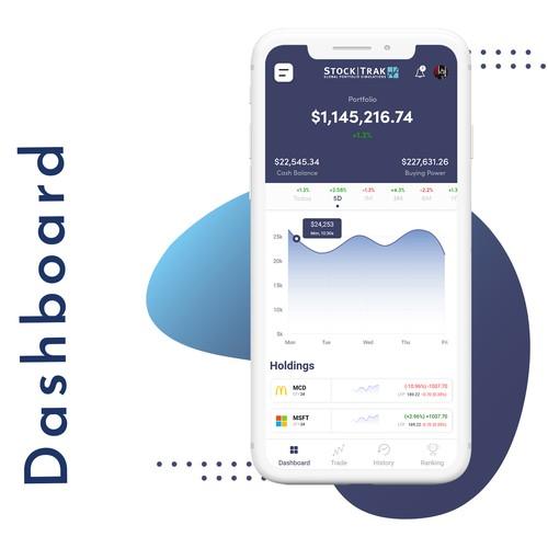 Mobile Stock Trading Mobile Application
