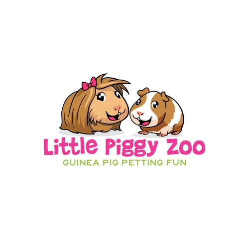 logo for little piggy zoo