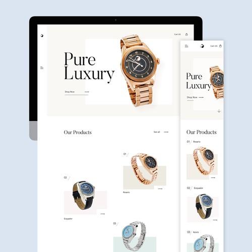 Luxury Website