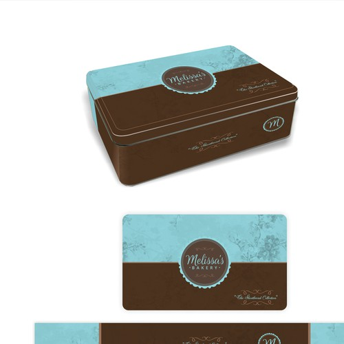 Create a compelling product label for a trendy, classy, and chic bakery selling upscale baked goods!
