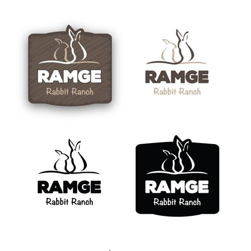 Logo for a Rabbit Farm
