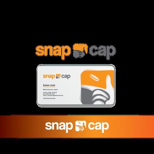 Create the corporate logo for Snapcap.com