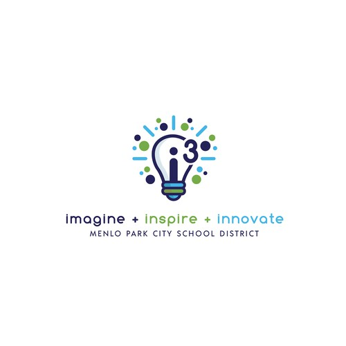 "School Innovation Zone Logo ""i3"""