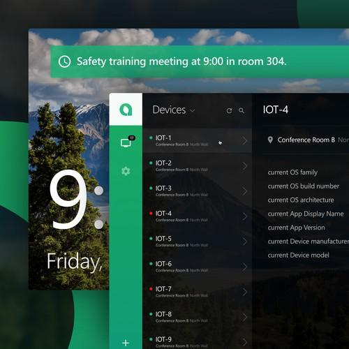 Employee Kiosk IoT App