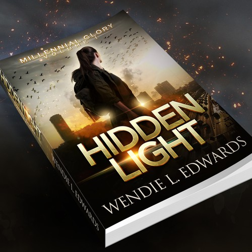 """Hidden Light"" cover design"