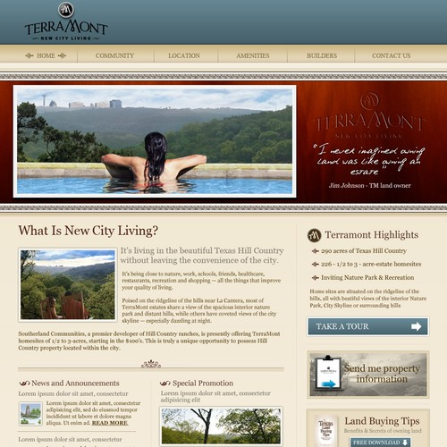 Website - Residential Land Development