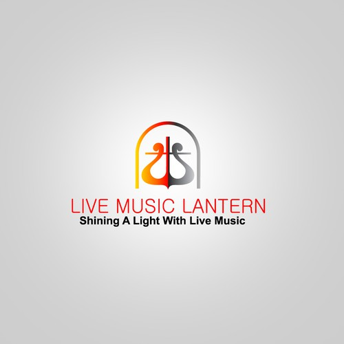 """LOOKING for a logo that has a lantern, depicts """"live music"""" & incorporates light & looks good on a TSHIRT. Nonprofit lo"""