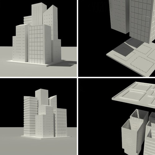 Quick N Easy 3D Buildings Please : )