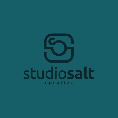 Clean, Modern Logo for High Concept Photography Studio