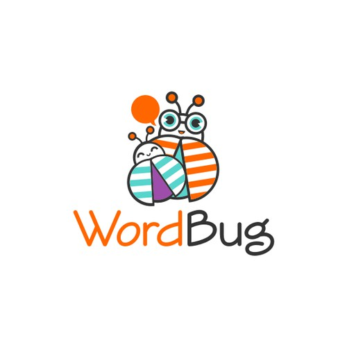 Playful logo for kids wearable and app