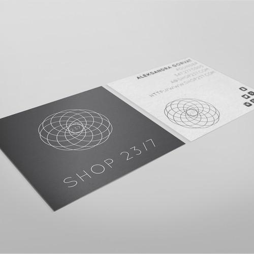 Logo & business card for online storefront