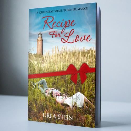 Book cover for contemporary romance novel.