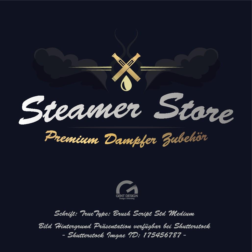 Steamer-Store braucht ein aussagefähiges neues Logo