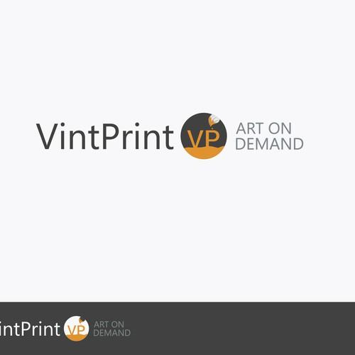 Create a new Logo for Art Poster Store VintPrint.Com