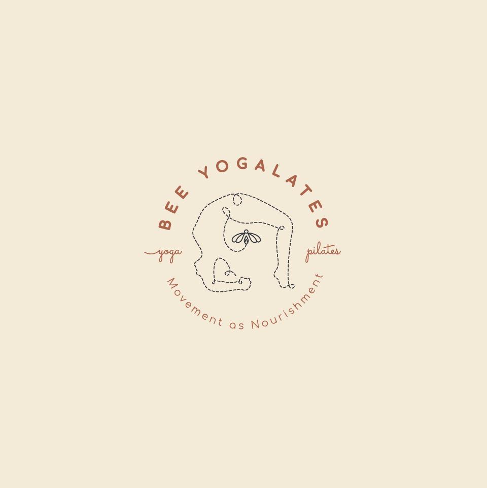 Design a  sensuous logo for a boutique yoga and pilates studio.