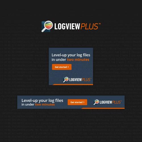Banner ad for Logview Plus