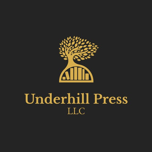 Logo for an independent book publisher