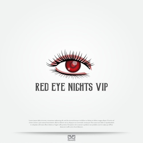 Logo concept for night club