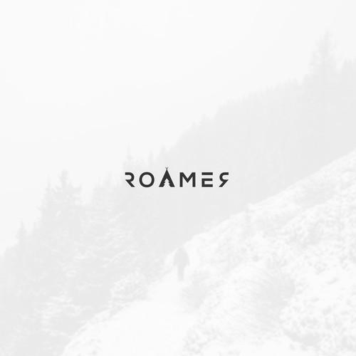 Logo for the modern ROAMER