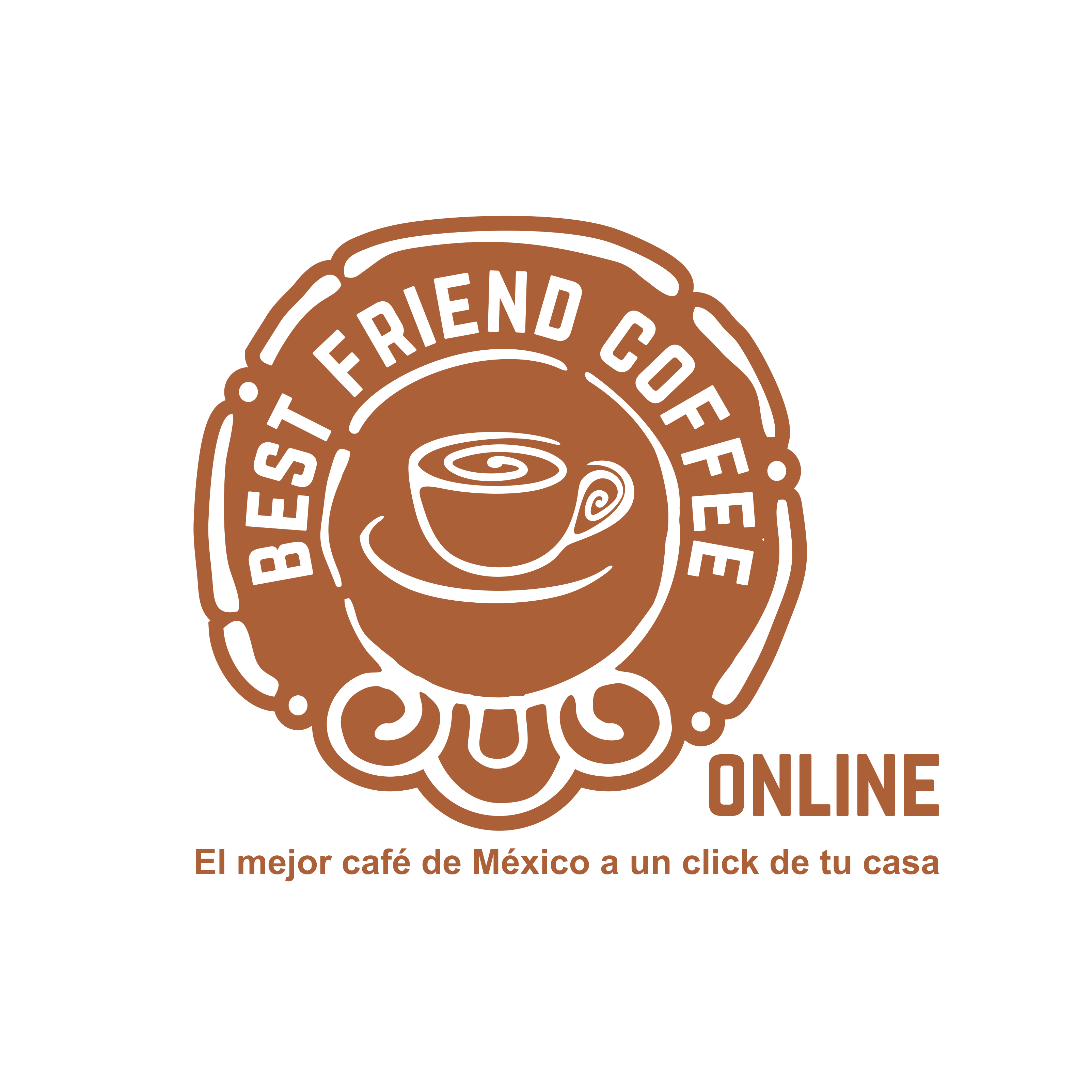 design a online logo for Best Friend Coffee