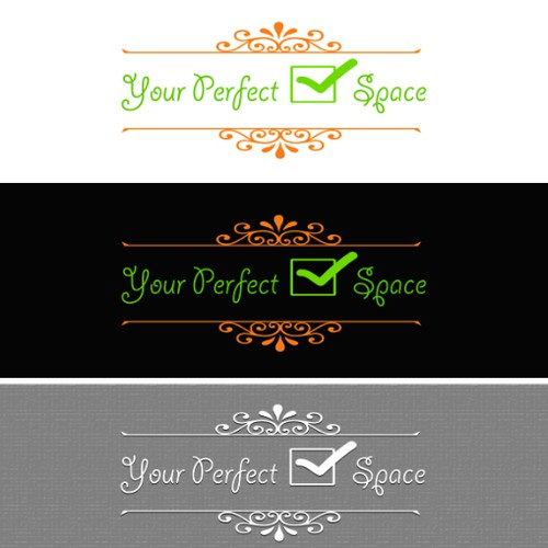 Create a beautiful logo design that reflects and resonates with Your Perfect Space