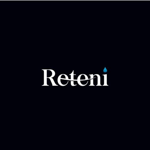 Reteni Shampoo Modern Design Logo
