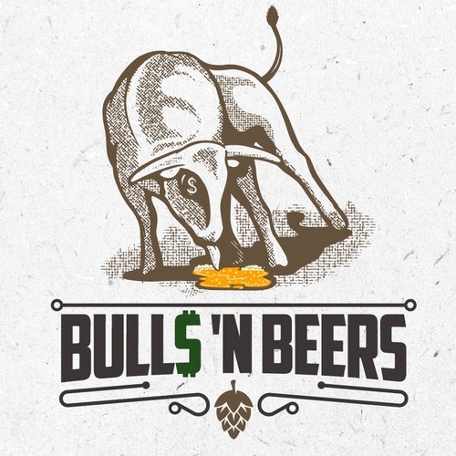 Logo concept for beer bar