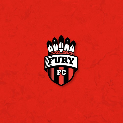 Crest design for FC Fury