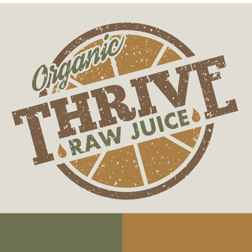 THRIVE!  Design an award-winning logo for Thrive Raw Juice