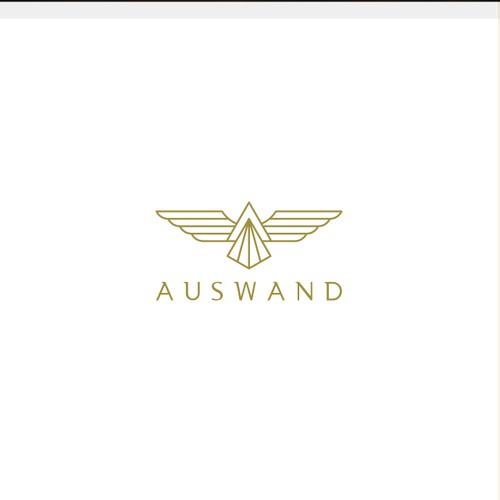 Luxurious retail brand logo