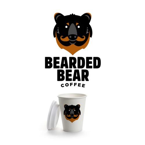 Bearded Bear Coffee Logo