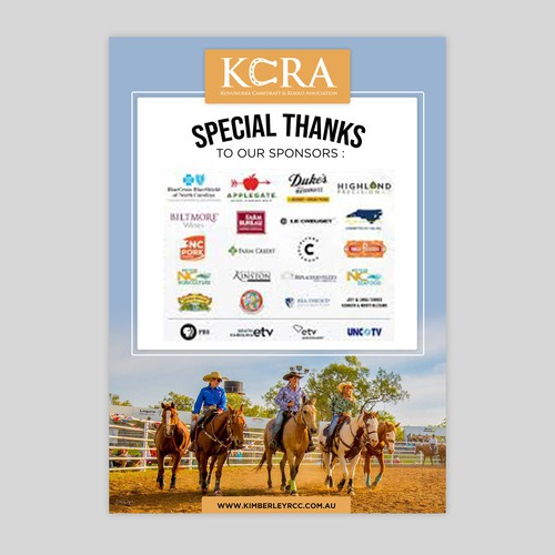 "KCRA ""Special Thanks"" Announcement Design"