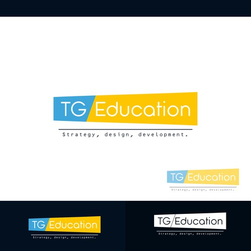 Concept logo designed for TG Education