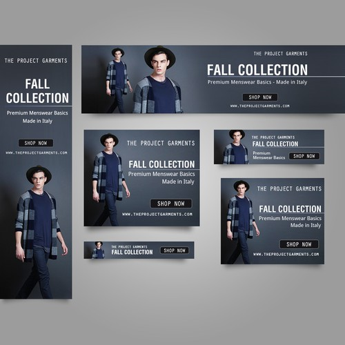 Fall collection banner