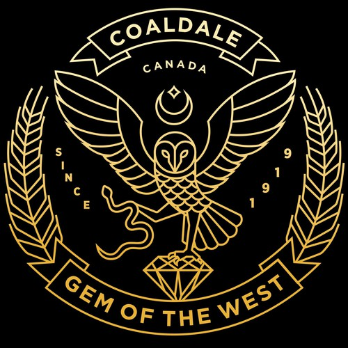 COALDALE COAT OF ARMS