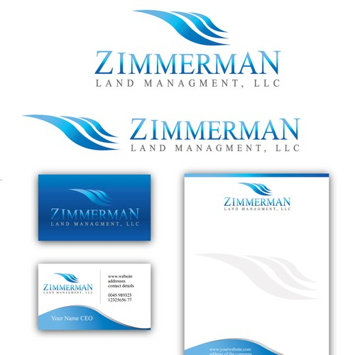 Logo and identity for Zimmerman