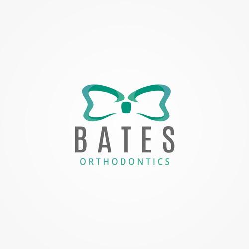 Bowtie + dental logo