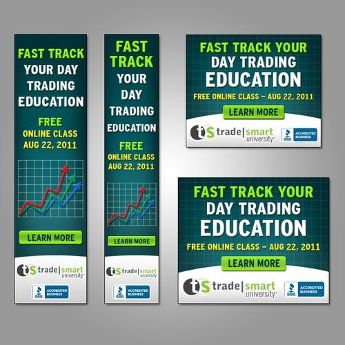 TradeSmart University needs a new banner ad
