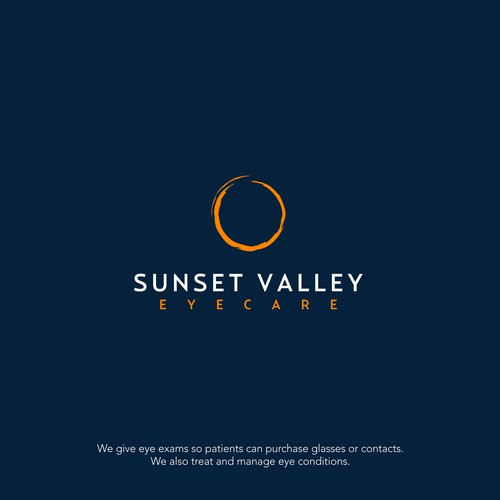logo for an eye care practice