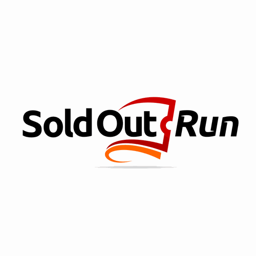 logo for Sold Out Run - theatre marketing website