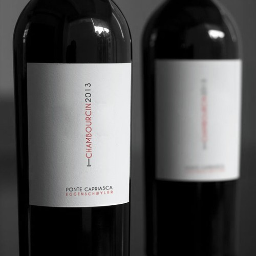 Modern/Young Wine Label