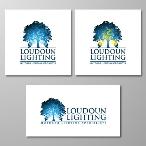 Landscape Lighting logo for a Lighting Professional
