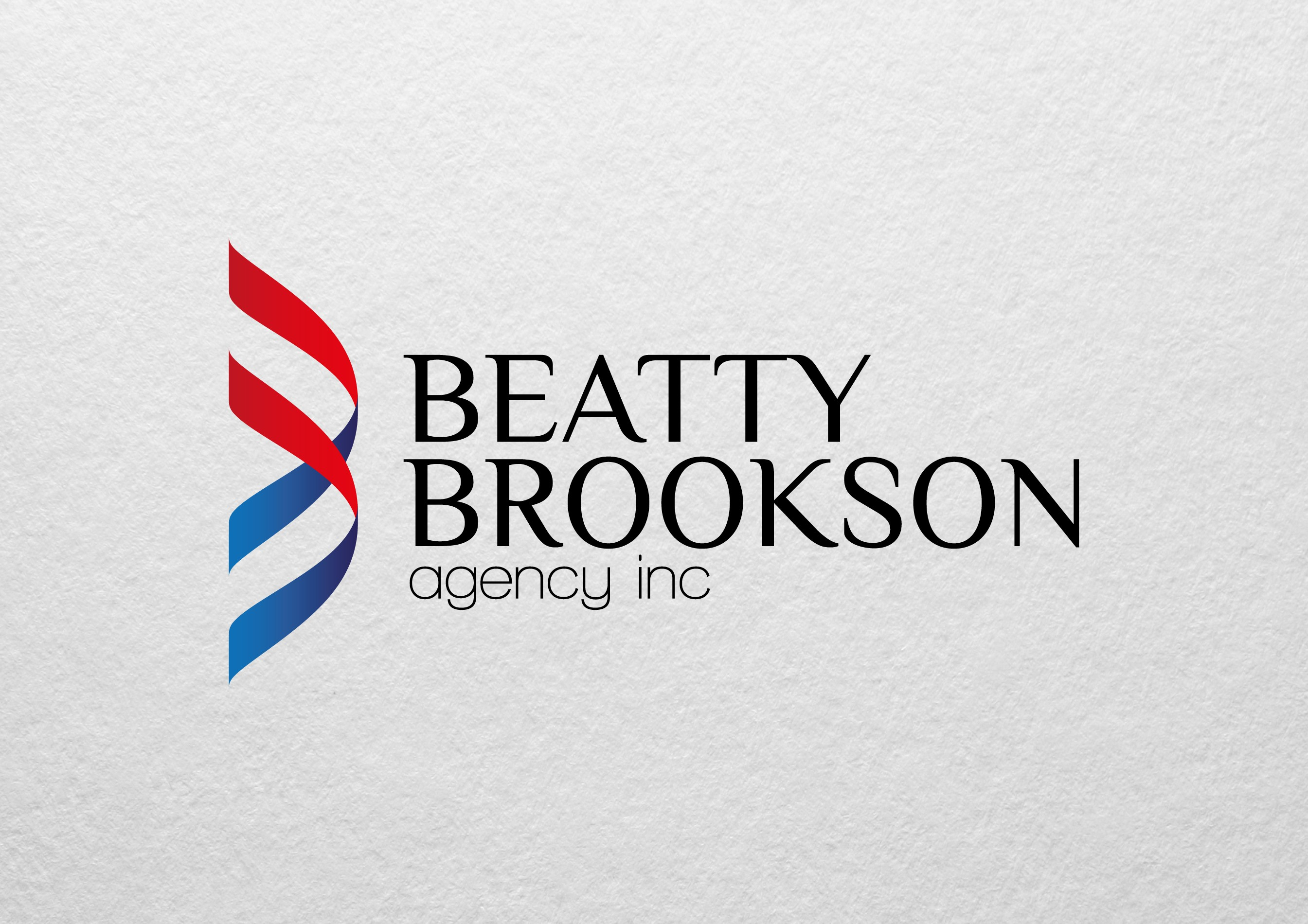 modern concept logo for an insurance agency expressing trust, confidence, experience