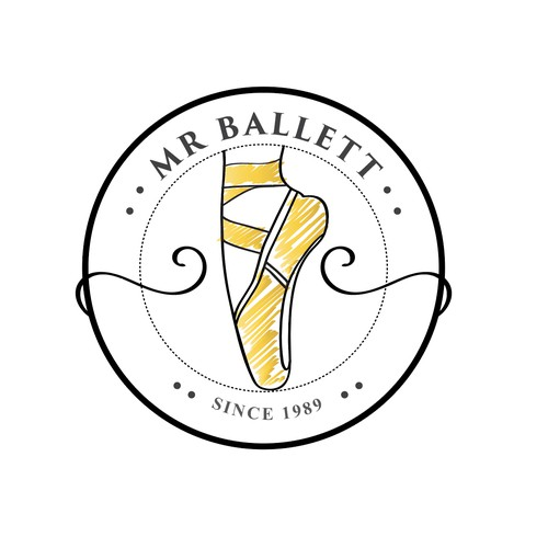 Mr. Ballett Logo Design