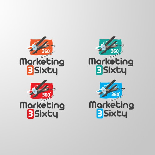 Unique, Creative logo wanted for Marketing 3Sixty
